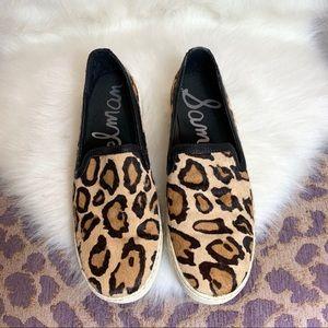 Sam Edelman Becker leopard sneakers 7.5